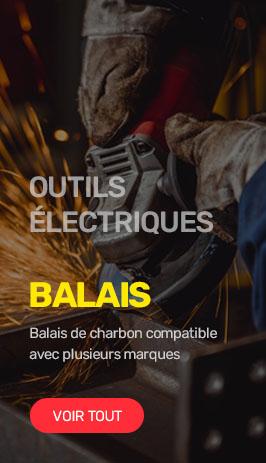 Balais de charbon Outils électriques
